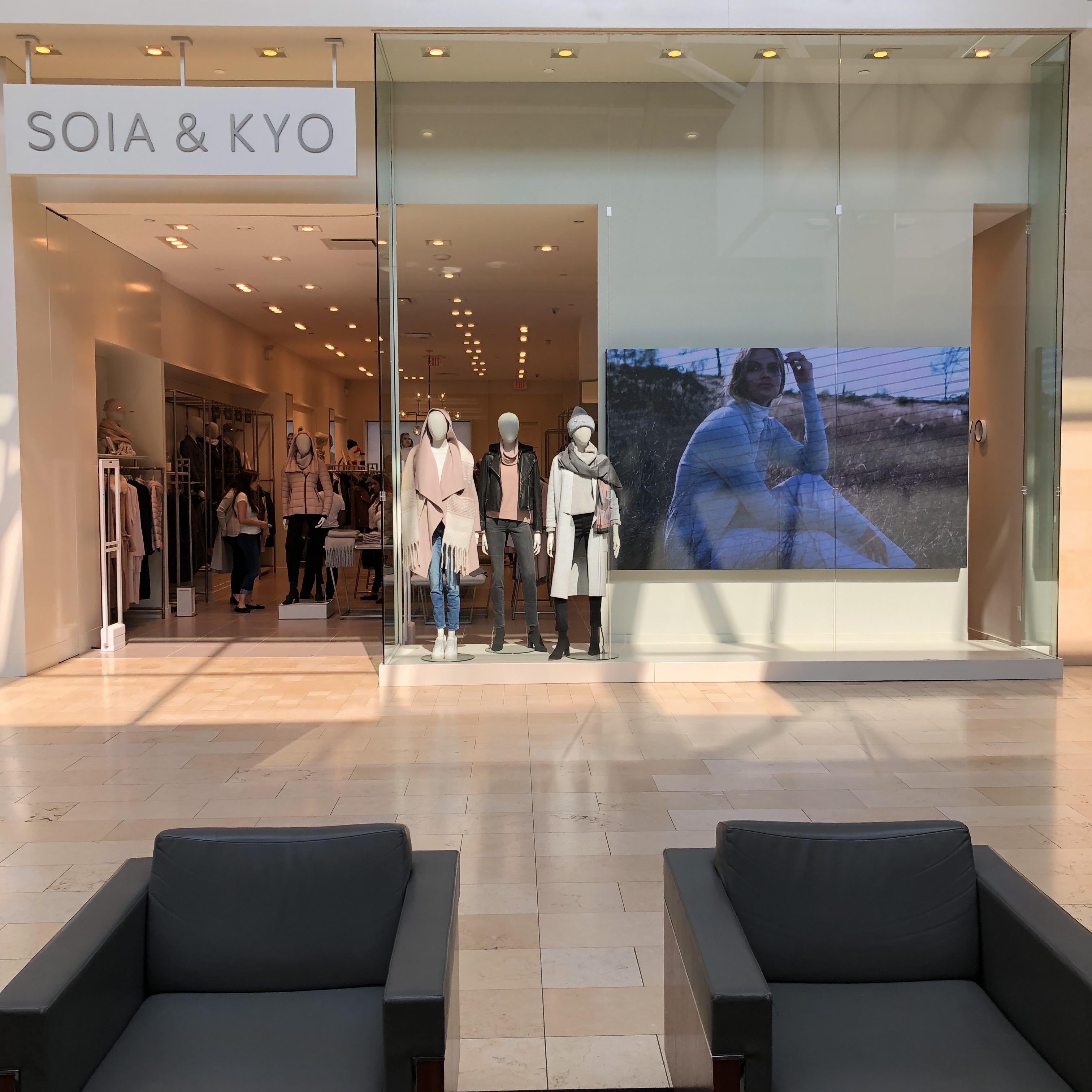 SOIA&KYO entrance signage